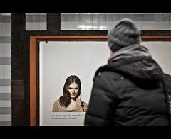 "17/ 50 ""eye contact"" (Mirko.Eggert) Tags: germany 50mm hamburg ubahn u1 50mmproject klosterstern twittographers nikond7000"