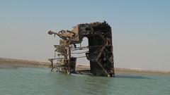 Shipwreck, Basrah, Iraq