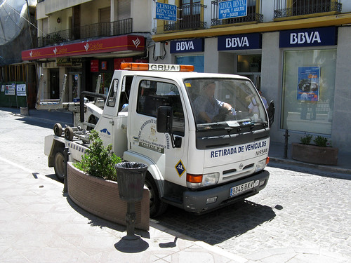 Nissan Cab Over Engine (COE) Tow Truck In Spain