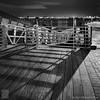 Fort Point at Night (JMichaelSullivan) Tags: bw boston 100v mono fortpoint m7 150v mamiya7 24x24 mjsfoto1956 50v 18x18