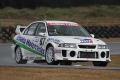 234 Q2 Mitsubishi Evo 5 (Gray) (southspeed) Tags: summer 200 nz production series gt southland invercargill teretonga new bnt sscc zealand series gt production championship bnt