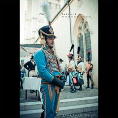 Hussard | Villefranche (dominikfoto) Tags: bw france history costume nikon nb revolution histoire napoleon beaujolais villefranche soldat 0212 reconstitution fusina hussard conscrit d3s fusinadominik conscrits2012 saldier bwbeaujolais