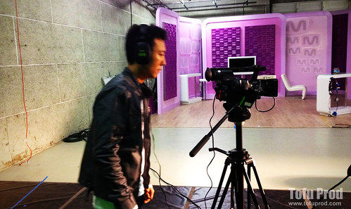 Filming with Mnet – Project  Day 02