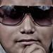 Pedrito cool glasses portrait