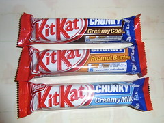 Nestle KitKat Chunky Limited facebook edition (Like_the_Grand_Canyon) Tags: bar break candy sweet chocolate ab special have limited edition auf facebook schoko riegel stimme