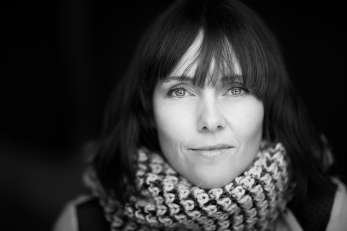 33/366 - Portrait of Live, with scarf by Andreas Øverland, on Flickr