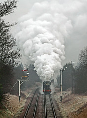 The Cornishman (Kingmoor Klickr) Tags: heritage railway steam loughborough greatcentralrailway gcr 4953 pitchfordhall thecornishman