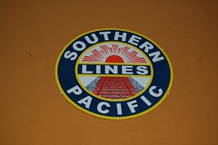 Southern Pacific (Nurse Kitty Qat) Tags: railroad sign southernpacificlines