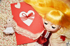 limited card for Valentine's Day 2012