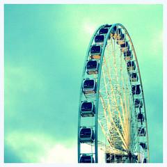 _MG_6920-001 (GCF Photography) Tags: city uk england liverpool ride cloudy ferriswheel beatles hdr merseyside echoarena