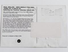 Promotional Post Cards (twistedfotographie) Tags: postcard steve promotional oceancolourscene paulweller stevewhite willsergeant ianmccullock cradocksimon fowlerdamon minchellaoscar harrisonoasisnoelgallagher electrafition