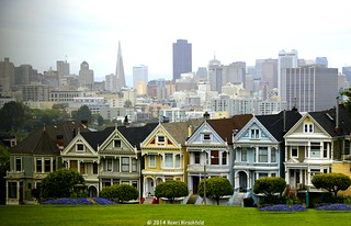 "The ""Painted Ladies"""