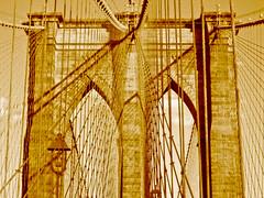New York City (Manhattan USA) [City Clock]-3 (City Clock Magazine) Tags: new york city newyorkcity bridge usa brooklyn unitedstates manhattan cable cables brooklynbridge