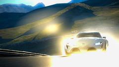 Matterhorn Rotenboden | FT1 (Beau Hudspeth Photography | The WatchTographer) Tags: mist car rain sunrise adobephotoshop toyota matterhorn gt6 ft1 adobelightroom rotenboden granturismo6 visiongranturismo capturegt6
