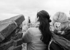Prague Castle: View from the Ramparts (holtelars) Tags: blackandwhite bw 120 film monochrome analog mediumformat 645 prague pentax praha tourists 200iso czechrepublic analogue 6x45 f28 45mm praguecastle czechia foma pentax645 filmphotography rodinalspecial fomapan fomapan200 classicblackwhite 645n homeprocessing fomapan200creative filmforever smcpentaxfa r09spezial larsholte compardr09spezial