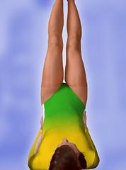 Pi cvien 3 (mermanpetleotard) Tags: socks tights socken pantyhose nylon spandex lycra medias leotard maillot nylons dres strumpfhose strumpfhosen trikot collant collants gymnastikanzug leotardo elastan justaucorps gymnastikanzge punoche gymnastick