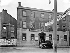 Cumann na nGaedhael Committee Rooms : commissioned by Henry D. Keane Esq., Solicitor, O'Connell Street, Waterford (National Library of Ireland on The Commons) Tags: 1932 election posters waterford glassnegative generalelection manorstreet nationallibraryofireland manorschool ahpoole committeerooms wtcosgrave poolecollection arthurhenripoole dangerhightension mrdevalerainafix cumannnangaedhael henrydkeane