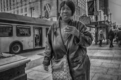 Market Street, 2016 (Alan Barr) Tags: street people blackandwhite bw philadelphia monochrome mono blackwhite candid streetphotography streetphoto gr marketstreet ricoh marketeast 2016