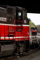 Wistah Ops (Ryan J Gaynor) Tags: railroad train massachusetts railway trains telephoto transportation locomotive railfan worcester pw railroading providenceworcester