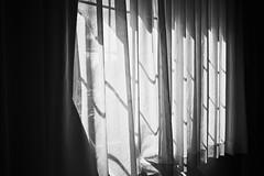 Desperation (igo.rs) Tags: sunset white black sunshine ray room curtain indoor