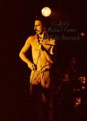 Michael Conen - [PROOF] Frank Zappa surveys the crowd bright [Frank Zappa - Louisville Gardens, Louisville KY 11-10-77] (michael conen) Tags: kentucky louisville canonae1 1977 allrightsreserved frankzappa louisvillegardens michaelconen copyright2013