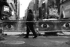 MyTubeNYC (MyTubeNYC ( Gediminas Jankevicius )) Tags: street city nyc portrait people urban bw newyork man motion monochrome underground square mono photo candid streetphotography hardcore timessquare noise noire blackwhitephotos mytubenyc gediminasjankevicius