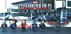 LEGO Captain America: Civil War - Team Cap (MGF Customs/Reviews) Tags: chris winter man black scarlett holland robert tom america scarlet giant soldier paul spider evans team war iron elizabeth lego witch ant machine jr vision civil cap captain figure falcon mackie anthony custom widow panther barnes bucky olsen avengers johansson downey minifigure rudd