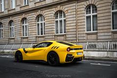 F12tdf (TheCarhotel) Tags: yellow frankfurt ferrari tourdefrance supercar f12 f12tdf