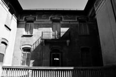 Disegno di luci e ombre - Drawing of light and shadow. (sinetempore) Tags: house home torino casa balcony turin biancoenero balcone blacandwhite collegno balconata villaggioleumann leumannvillage disegnodiluceeombre drawingoflightandshadow