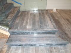 Staircase (SuperiorFloors) Tags: wood floors oak rustic staircase flooring woodstock hardwood