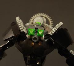 Maskless - Front (Maqdaddio) Tags: robot lego bionicle mecha moc bzpower onua
