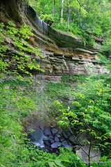 Fremont Falls (Mark Birkle) Tags: county ohio summer cliff fall water beautiful stone creek river photo waterfall spring big dangerous stream image scenic picture large indiana fremont falls hidden waterfalls valley jefferson tall flowing hanover biggest township largest freemont tallest