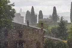 Hailstorm (cobram88) Tags: panorama storm rain weather canon spring italia may tuscany sangimignano toscana pioggia maggio torri hailstorm 2016 grandine 1585 700d