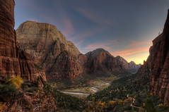 Happy Thanksgiving from the Grandeur of Zion Canyon (Deby Dixon) Tags: travel tourism photography utah nikon hiking exploring zion zionnationalpark viewpoint deby allrightsreserved zioncanyon 2011 westrimtrail naturephotographer scoutslanding debydixon debydixonphotography