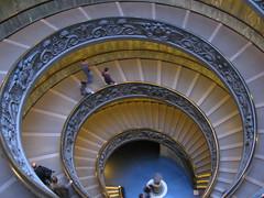 Escalera en espiral de Giuseppe Momo (Apuntes y Viajes) Tags: roma italia vaticano museivaticani
