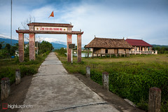 5D-05-3933.jpg (highluxphoto) Tags: travel seasia southeastasia vietnam highway14 cycletouring hochiminhhighway aluoi villageentrance highlux