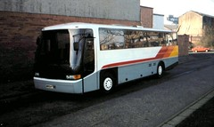 Wright Contour bodied Bedford YNT (miledorcha) Tags: travel bus bedford coach glasgow alpine wright tours rhyl llandudno smt contour coaches excursion dealer psv pcv vanhool finnieston llanrwst ymt ynt grandtourer vanhoolmcardle xwo257t b620ojc