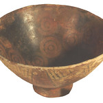 "<b>Bowl with Small Base, Flared to Top of Rim</b><br/> ""Bowl with Small Base, Flared to Top of Rim""  Earthenware, n.d. (Pre-Columbian) LFAC #722<a href=""http://farm8.static.flickr.com/7004/6466102075_f32a1141d7_o.jpg"" title=""High res"">∝</a>"