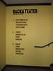 "Utsmyckning, väggtext, Backa Teater, SKYLTiDEAL • <a style=""font-size:0.8em;"" href=""http://www.flickr.com/photos/67559254@N08/6481442749/"" target=""_blank"">View on Flickr</a>"
