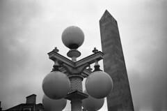 Freudian (the underlord) Tags: street lamp streetlamp balls cenotaph phallic southport kodaktmax400 merseyside selfdeveloped zorki1 kodakd76 50mm35 shotwideopen industar22 believeinfilm