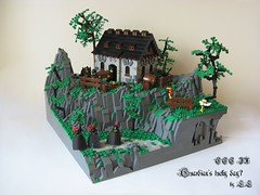 Guardian's lucky day ('LL') Tags: house tree castle classic rock work soldier lego guard medieval knight ccc raid bandit ll guardians lolino cccix