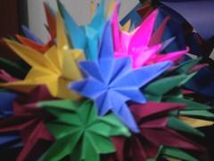 Pluto... (Ygor Albuquerque) Tags: sea pluto urchin seaurchin arabesque kusudama kusudamaseaurchin kusudamaarabesque kusudamapluto
