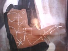 SICR... (rattlesnake jones) Tags: streak boxcar hobo tramp freighttrain trainart markal moniker paintstick railgraffiti