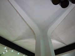 Newark, NJ Newark Liberty Int'l Airport Terminal A roof support (army.arch) Tags: newjersey airport nj international newark midcenturymodern terminala newarkliberty