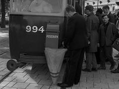 Post per tram 4/4 (Library of Amsterdam Public Transport) Tags: netherlands amsterdam poste track post trolley transport nederland tram rail rails publictransport streetcar brief trams tramway paysbas spoor strassenbahn ptt tramvaj electrico tranvia gvb openbaarvervoer brievenbus villamos vervoer brieven stadsarchief tramvia tram5 posterijen gvba gemeentevervoerbedrijf