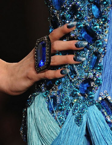 Catwalk Nails: The Blonds F/W 2011