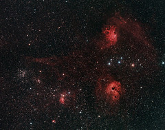 Flaming Star Nebula and area in Auriga from Buoux (turner_andi) Tags: stars star nebula deepspace auriga Astrometrydotnet:status=solved Astrometrydotnet:version=14400 Astrometrydotnet:id=alpha20111223334875 competition:astrophoto=2012