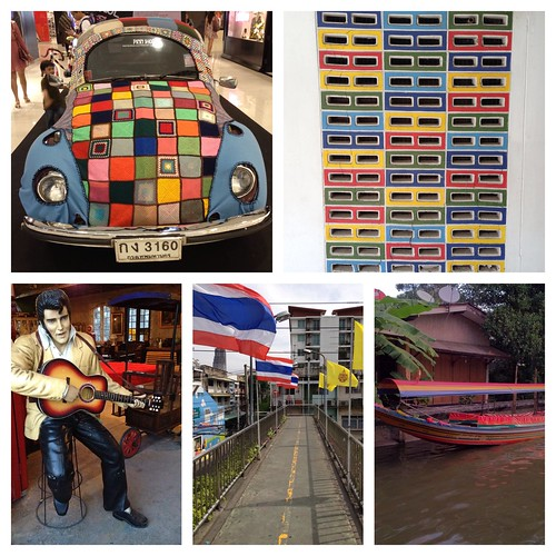 Bangkok Colourful Collage