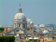 Cupolas of Rome (Ken Meegan) Tags: italy stpeters rome churches cupola domes romanskyline 2052004 cupolasofrome