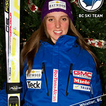 2011-12 BC Ski Team Postcard